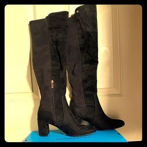 Black over the knee boots Liz Claiborne